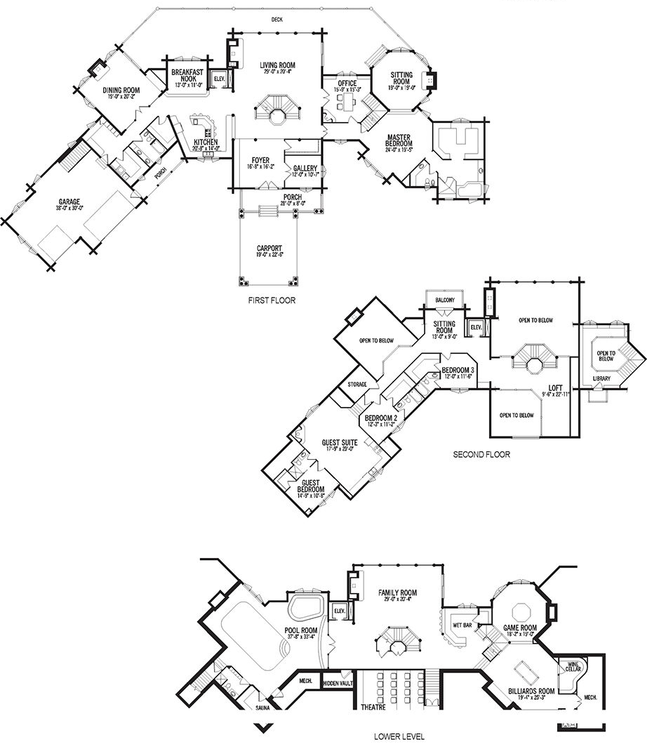 Log Home Floor Plans Georgia